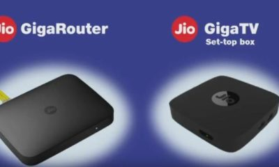Jio DTH Setup Box Booking Online and Registration – Jio GigaTV & Jio GigaRouter Launched